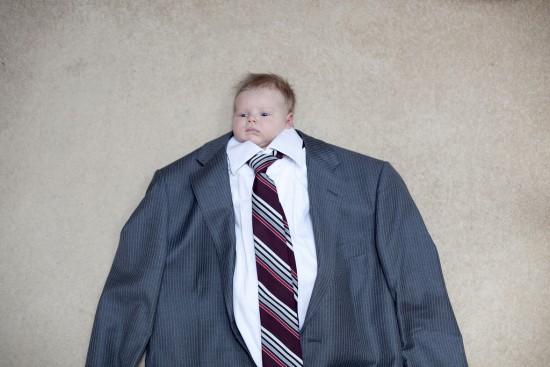 Bebé empresario