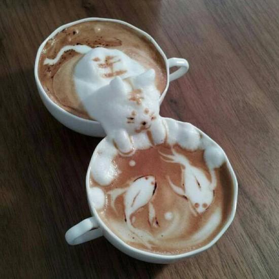Café en 3D