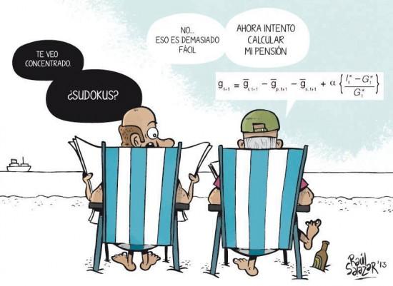 Calculando las pensiones