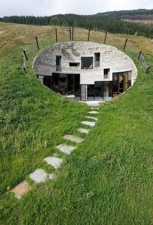 Casa subterránea