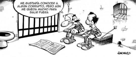 Corruptos fuera de la cárcel