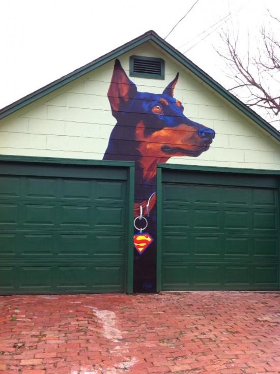 Cuidado: perro peligroso