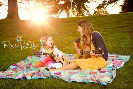 Madre e hija, dos fotocopias