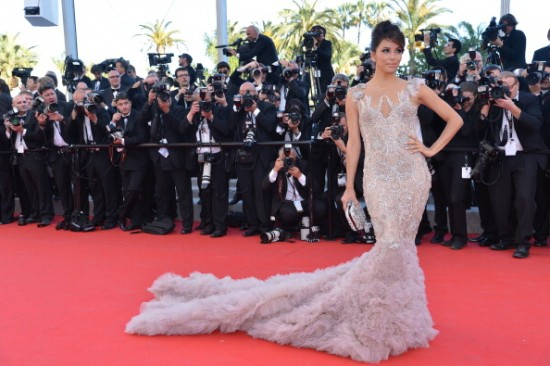Eva Longoria en Cannes