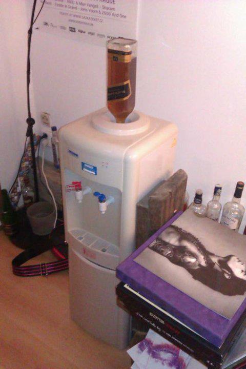 Expendedora de whiskey