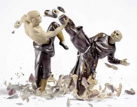 Figuras de porcelana (cuando se rompen)
