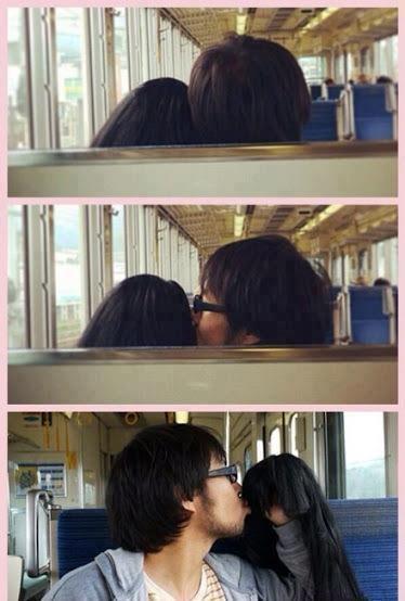 Forever alone pillado en el metro