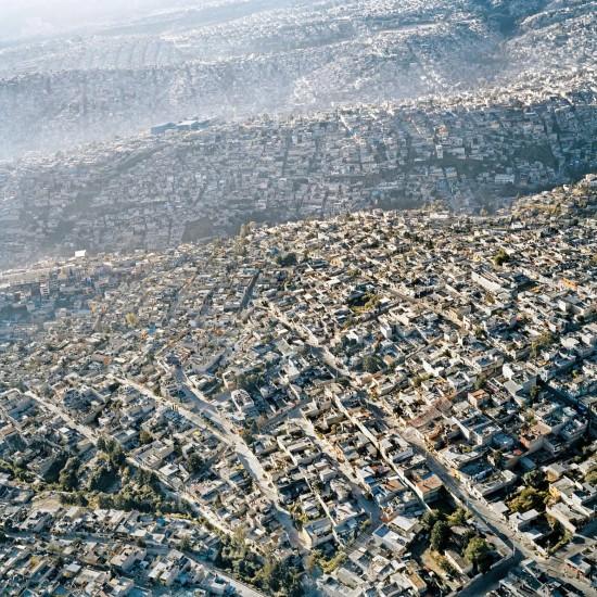 México DF desde el aire