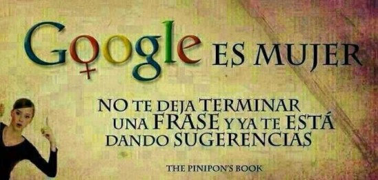 Google es mujer