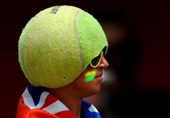 Gorra para tenistas