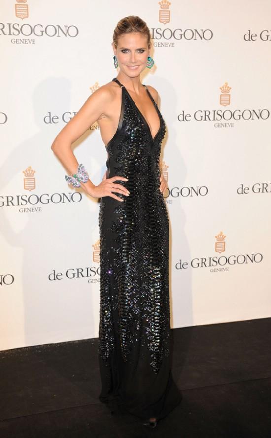 Heidi Klum en Cannes