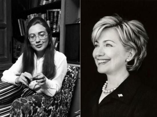 Hillary Clinton de jovencita