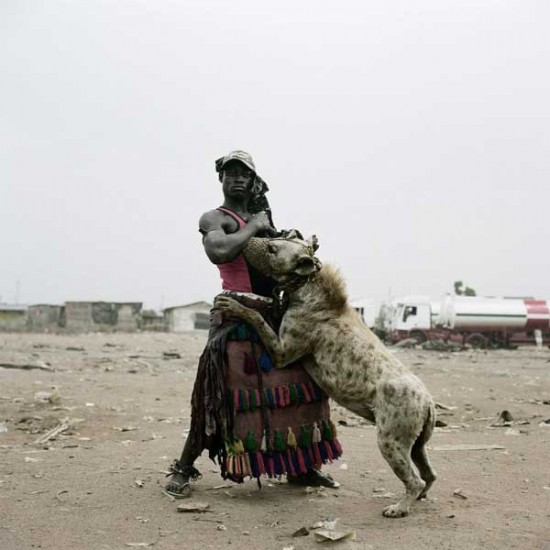 Mi mascota es una hiena