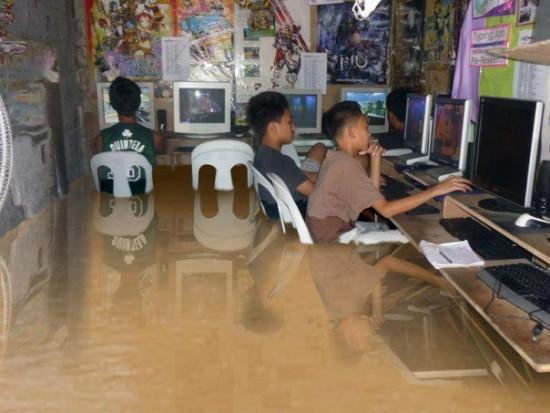 Inundaciones en Thailandia