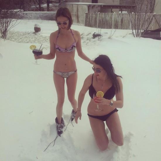 Islandia: donde se sale en bikini cuando nieva