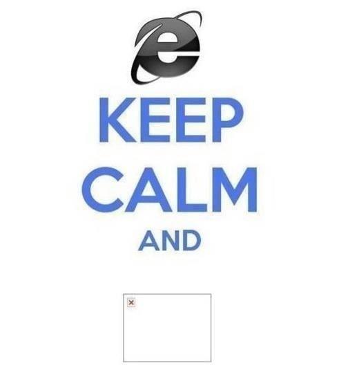 Keep Calm con Windows