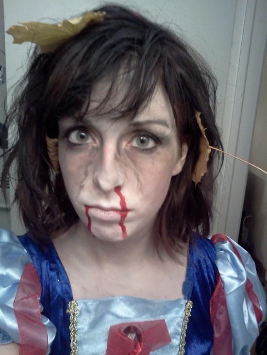 Maquillaje para disfraces de Halloween