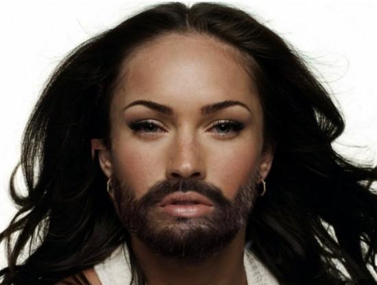 Famosas con barba II