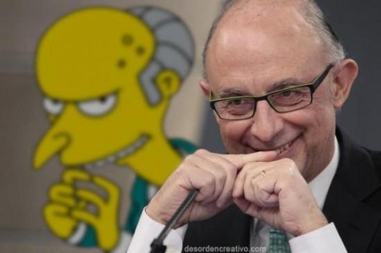 Montoro es Mr. Burns