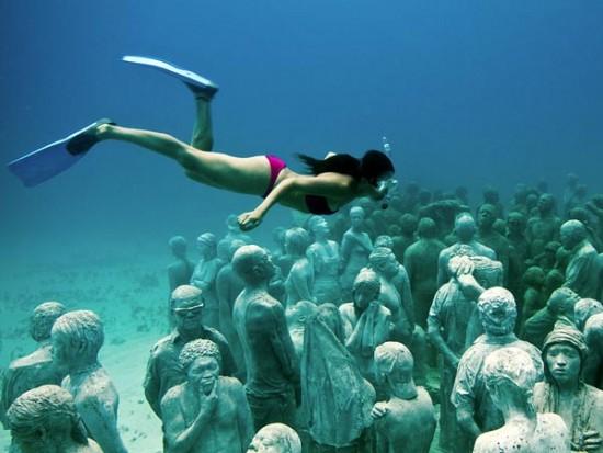 Museo bajo el agua
