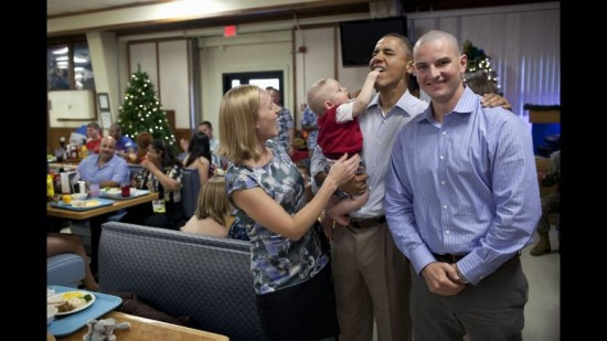 Obama y los niños