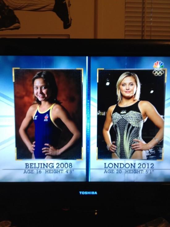Olimpiadas de Pekín y de Londres