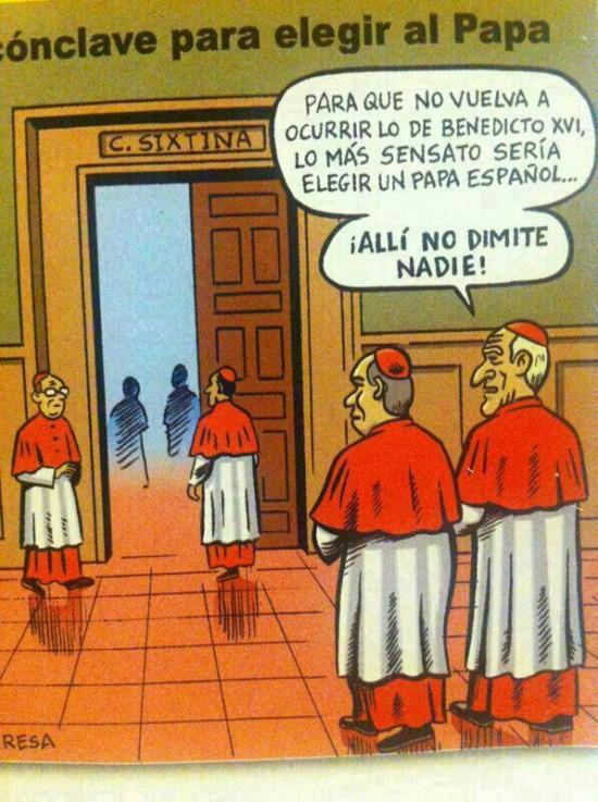 El próximo Papa debería ser español