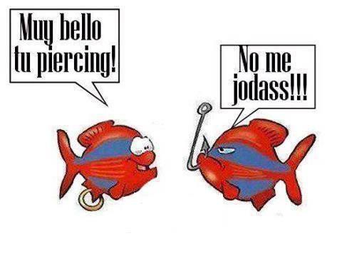 Piercing de un pez