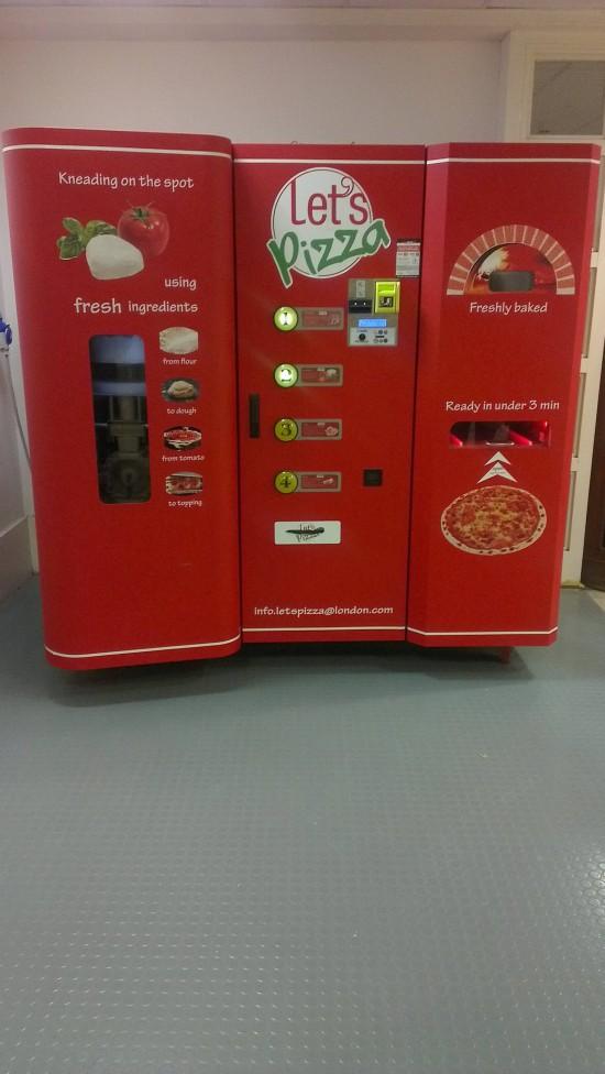 Expendedora de Pizzas
