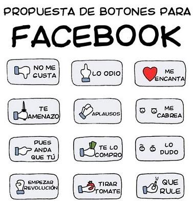 Propuesta de botones para Facebook
