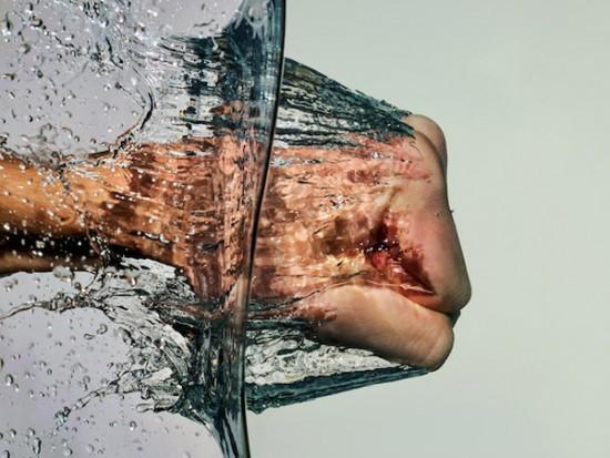 Puñetazo al agua