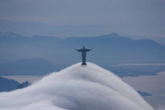 Día nublado en Río de Janeiro