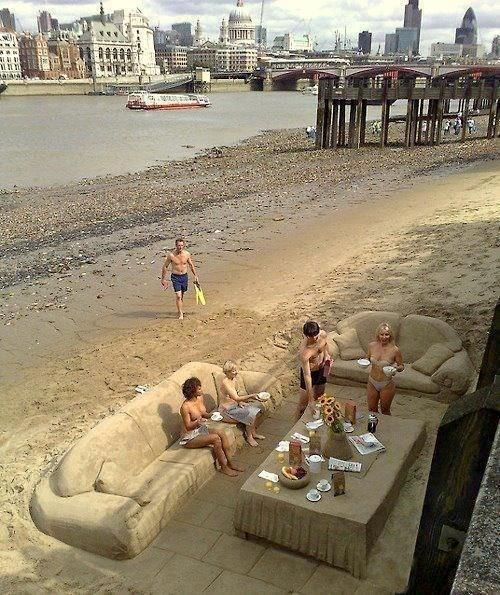 Sofás de arena