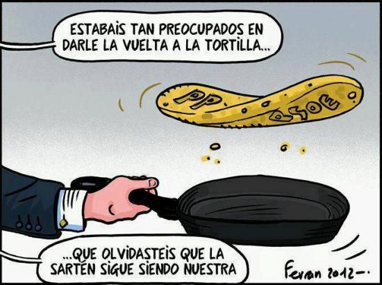 La tortilla del PP y PSOE