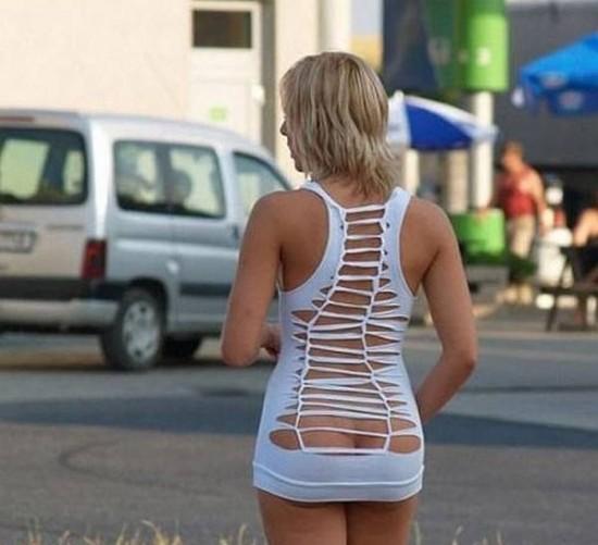 Vestido provocativo