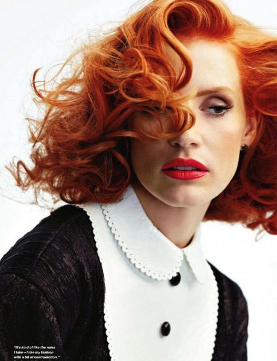 Jessica Chastain, la pelirroja de moda