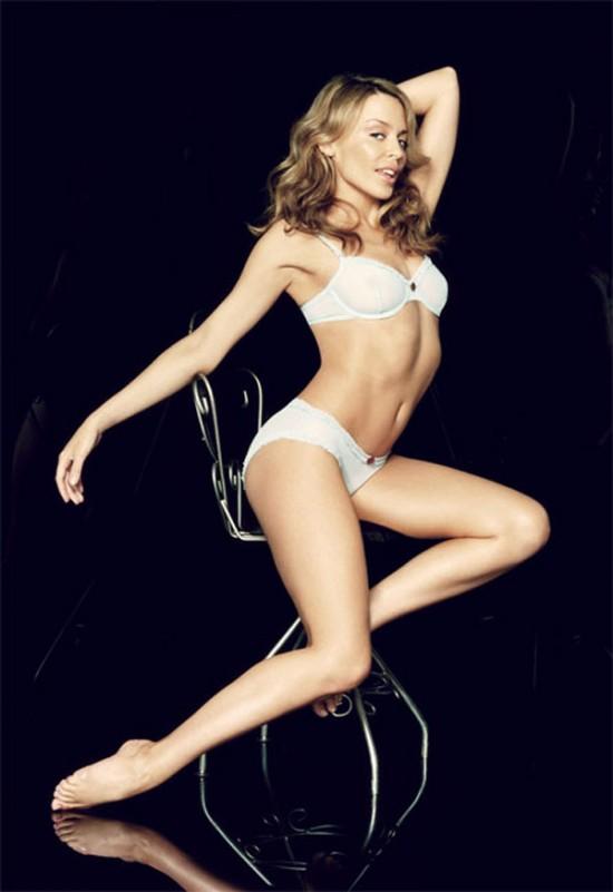 Kylie Minogue en ropa interior