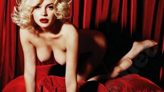 Lindsay Lohan posa para Playboy