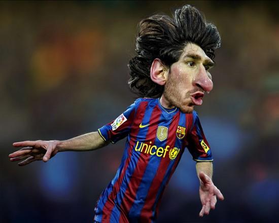 Caricaturas futbolistas
