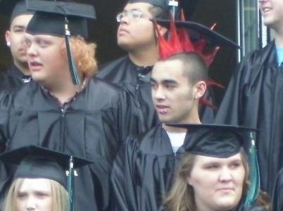 Punk recién graduado