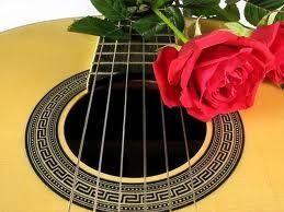 Guitarra en tono Latino