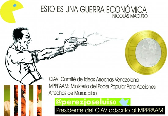 Lo que siempre digo... Guerra económica según Nicolás Maduro