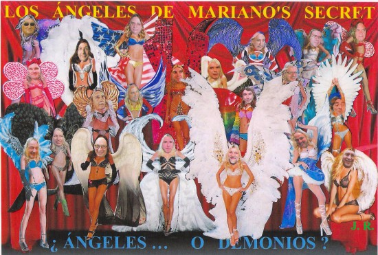 Los ángeles de Mariano's Secret