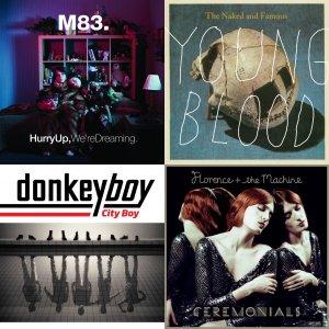 Las mejores canciones de 2012