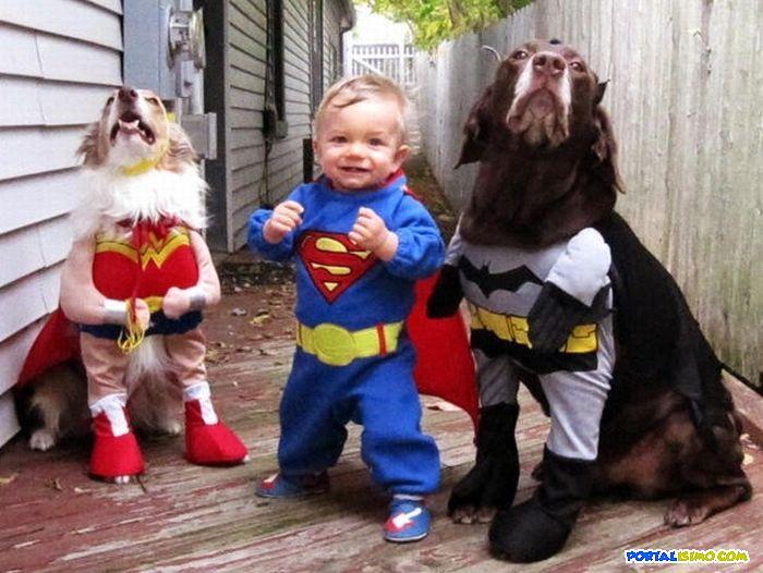 Niños disfrazados superheroes - Imagui