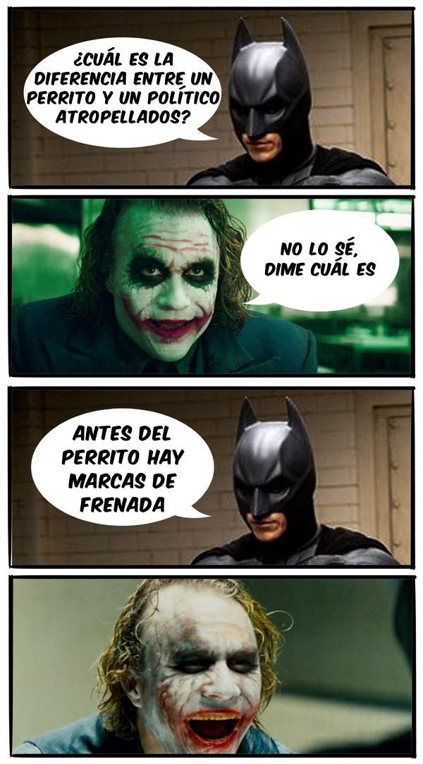 Batman y el Guason chistes