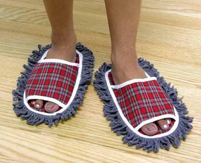 Zapatillas para limpiar el suelo - Zapatillas andar por casa originales ...