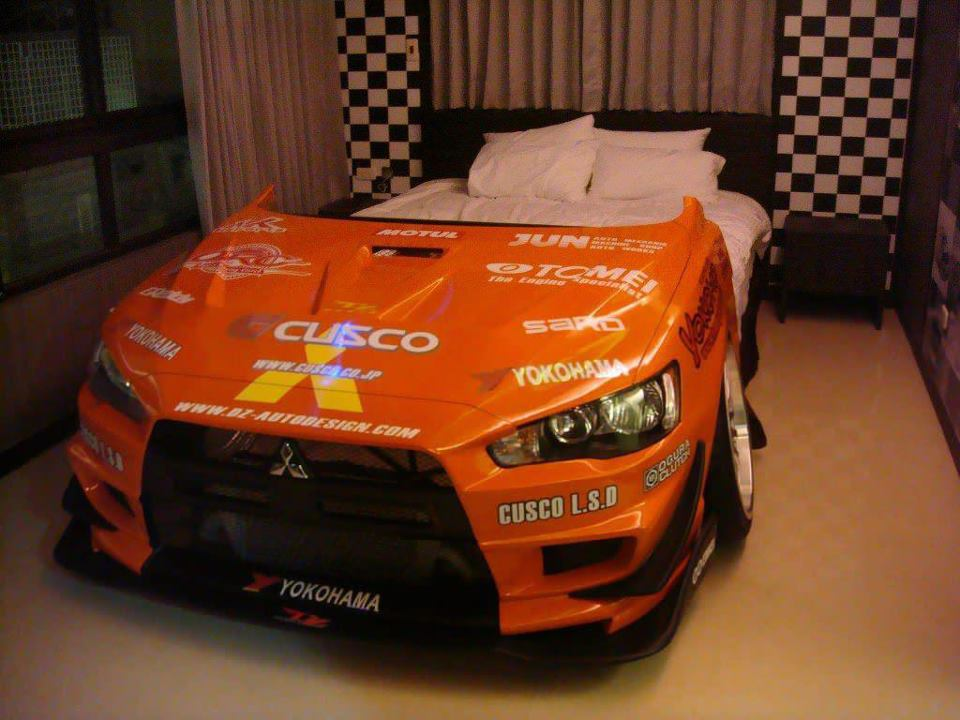 La cama coche o el coche cama - Camas de coches para ninos ...