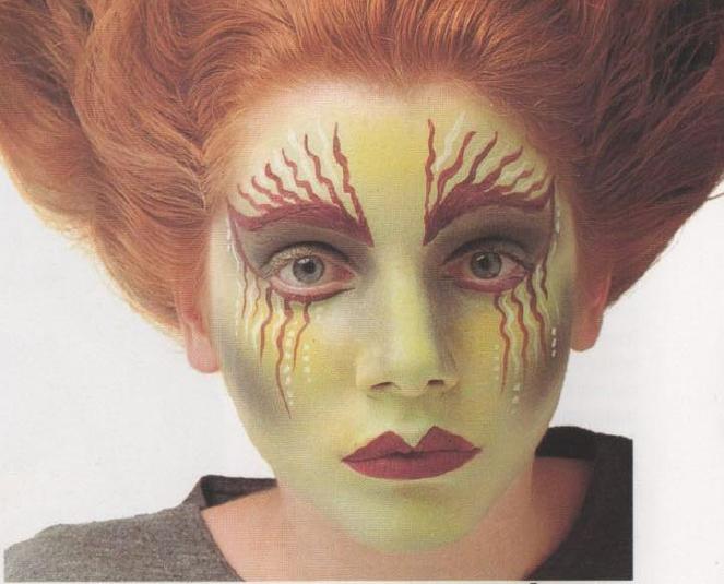 Maquillajes de halloween for Como pintarse de bruja guapa