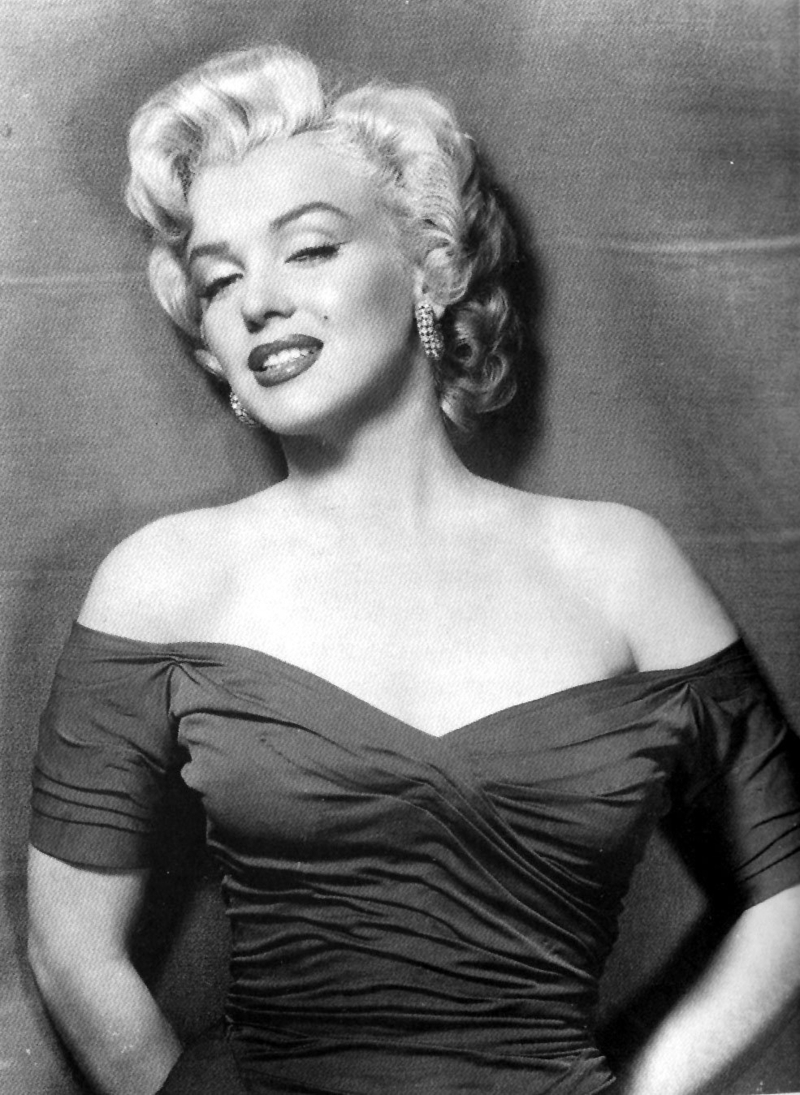Marilyn Monroe Vestido Negro
